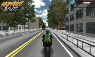 Screenshot of Asphalt Bikers FREE