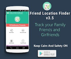 Screenshot of Friend Location Finder