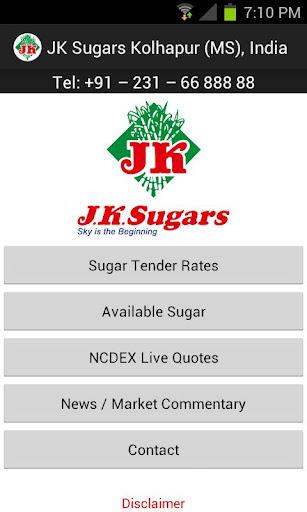 【免費商業App】JK Sugars-APP點子
