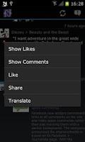 Screenshot of Facebook Plus - TrazLibro