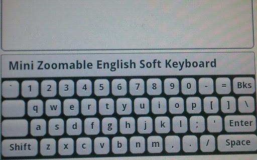 Mini English Keyboard Pad