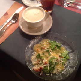 Soup and Salad by Terry Linton - Food & Drink Plated Food (  )