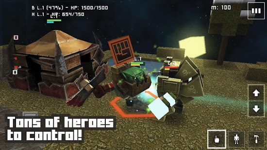 Block Fortress: War - screenshot