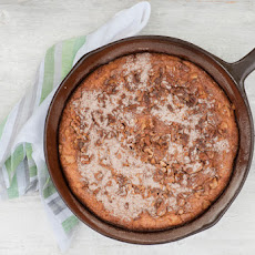 Skillet Banana Walnut Bread