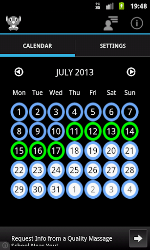 contraceptive-pill for android screenshot