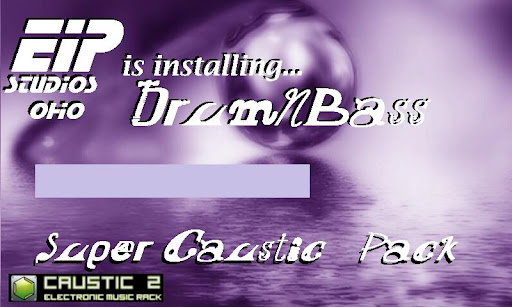 Caustic 3 DrumNBass - screenshot