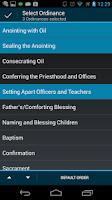 Screenshot of LDS Ordinances
