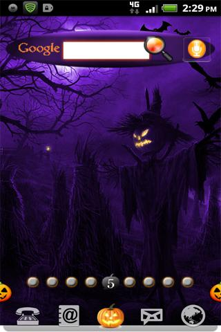 Halloween Pumpkin Purple