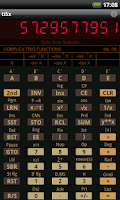 Screenshot of TI-58C/59 Calculator Emulator