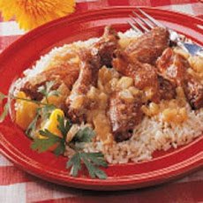 Chicken Wings Fricassee