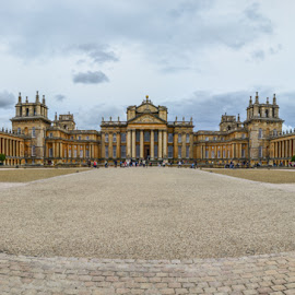 Blenheim Palace by Pete Lebow - Buildings & Architecture Public & Historical ( blenheim palace, uk, blenheim, oxford, palace, panorama )