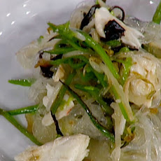 Stir-Fried Crabmeat with Cellophane Noodles