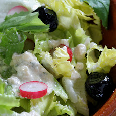 Creamy Feta-Red Wine Vinegar Dressing