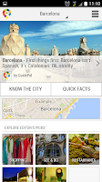 Screenshot of Barcelona City Guide