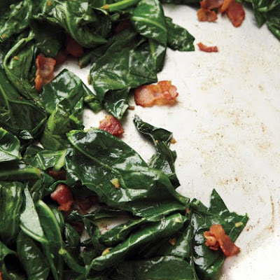 Sauteed Collards with Bacon