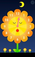 Screenshot of Sunflower clock for Infant
