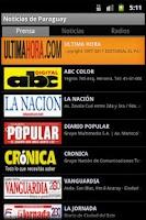 Screenshot of Noticias de Paraguay