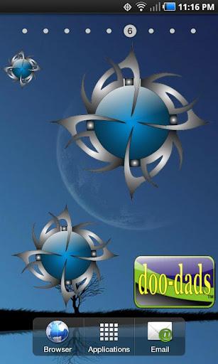 Tribal Blue doo-dad