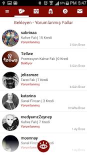 App Tellwe Gerçek Falcılardan Kahve Falı Tarot Katina APK for Kindle
