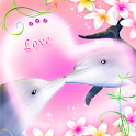 Dolphin -Rose Quartz- icon