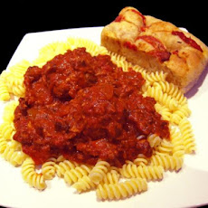 Mama Lama's Tomato Sauce and Meatballs