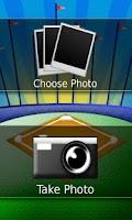 Screenshot of Little League® Card Maker