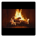 Yule Log Fire Live Wallpaper icon