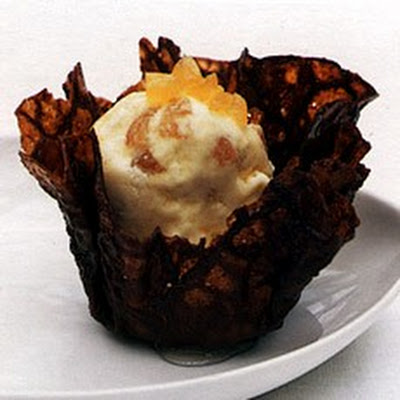Preserved Ginger Ice Cream