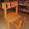 Детская мебель: Школярик 1 с надстройкой (комплект)
