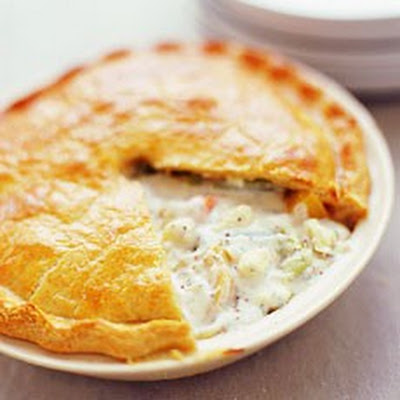 Winter Vegetable Pie with a Parmesan Crust