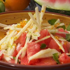 Jicama and Watermelon Salad