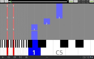 Screenshot of Lina Piano FREE learn tutorial