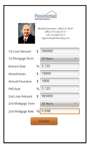 Michael Giannetto's Mortgage C