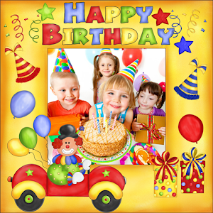 Birthday Photo Frames - Android Apps on Google Play