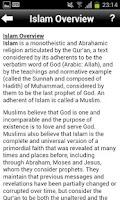 Screenshot of 101 Islamic Facts
