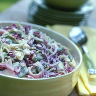 Spinach Coleslaw