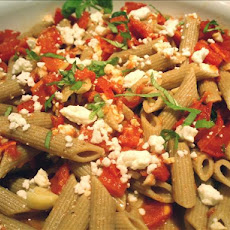 End-Of-The-Summer Tomato, Basil and Feta Pasta