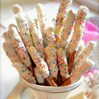 Birthday Cake Pretzels