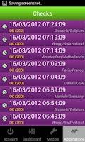 Screenshot of internetVista monitoring