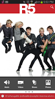 Screenshot of R5 Official App
