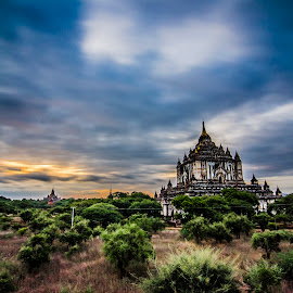 The cloud by Khun Myo Than Htun - Landscapes Cloud Formations ( clouds, temples, b&w 10 stopper, stupas, trees, long exposure, cloud trails )