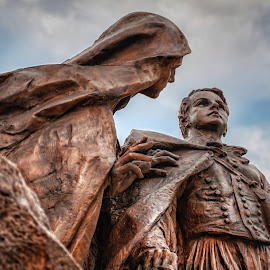 Tisza statue, Budapest by Ivana Iva - Buildings & Architecture Statues & Monuments ( hungary, budapest, europe, dramatic, monument, architecture,  )