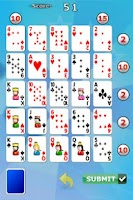 Screenshot of Poker Square
