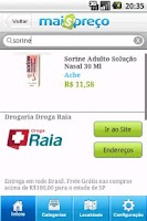 Screenshot of Mais Preço