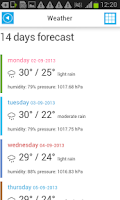 Screenshot of Indonesia Offline Map &Weather