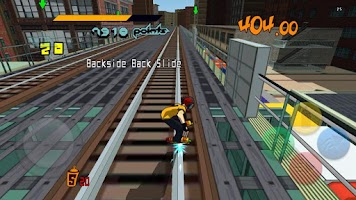 Screenshot of Jet Set Radio