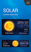 Screenshot of Solar Realistics Weather Skin