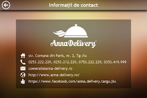 Screenshot of Anna Delivery