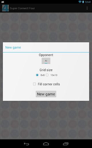 Super Connect Four