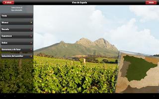 Screenshot of Vinipad Wine List & Food Menu